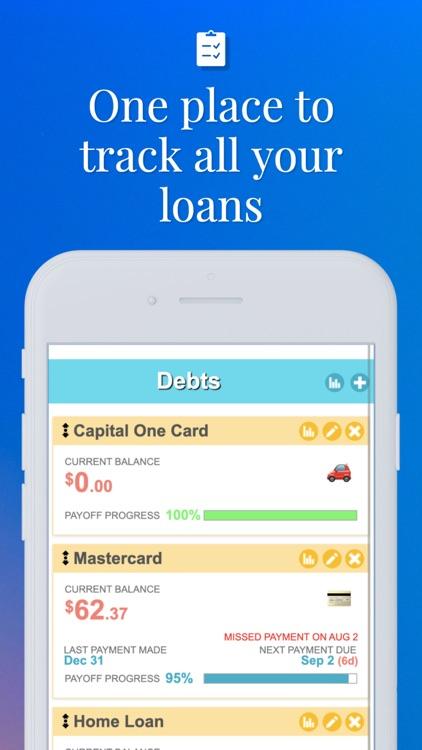 Debt Payoff Planner & Tracker screenshot-3