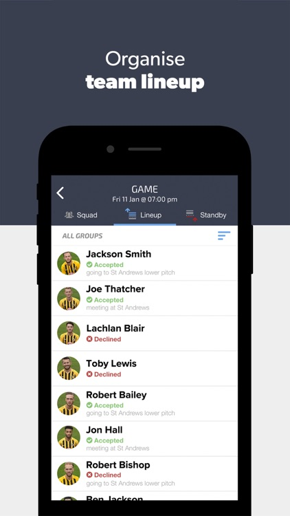 Teamer - Sports Team App screenshot-3