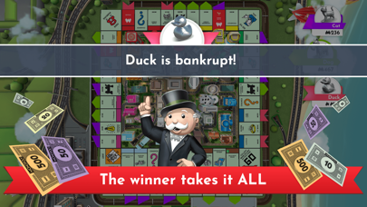 Screenshot of Monopoly App