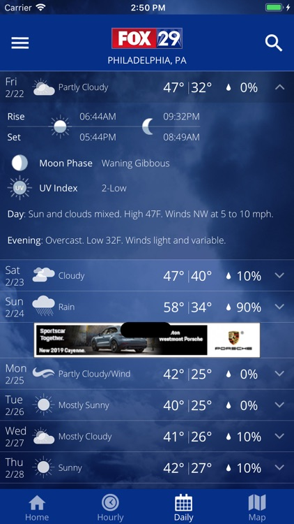 FOX 29 Weather - Philadelphia screenshot-4