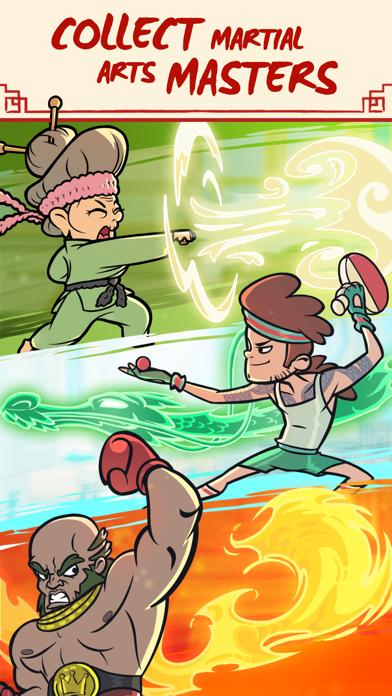 Kung Fu Clicker: Idle Dojo screenshot 3