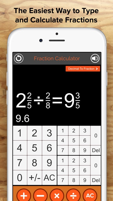 calculator for mixed fractions and decimals