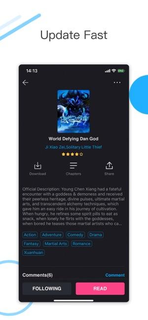 Novel Cool light novel reader on the App Store
