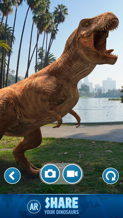 Jurassic World Alive screenshot-4