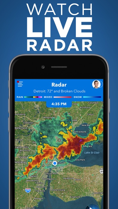 Screenshot for Local4Casters Weather in United States App Store