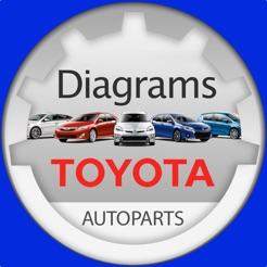 toyota parts diagram \u0026 vin on the app store 2000 Toyota Avalon Engine Diagram toyota parts diagram \u0026 vin 4