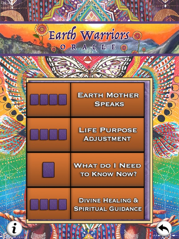Earth Warriors Oracle Cards screenshot 12