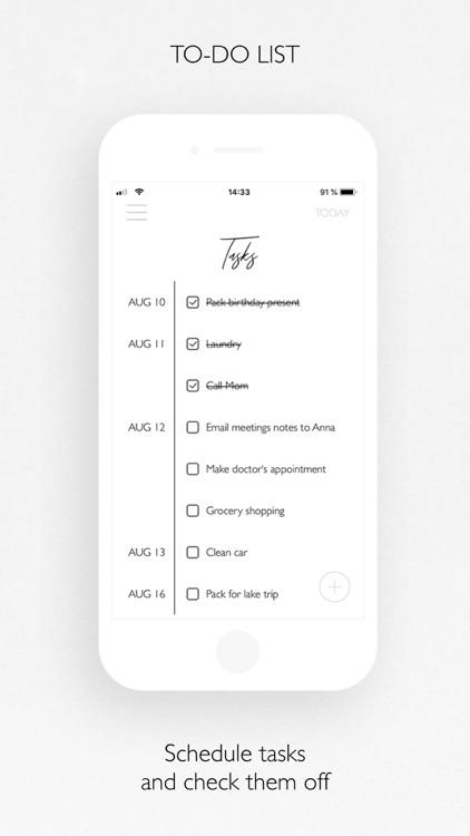 PLANBELLA - Planner App screenshot-7
