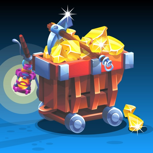 Gold Miner & Match 3 Tycoon icon