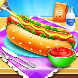Hot Dog Burger Food Game