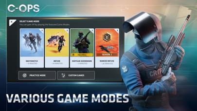 Screenshot from Critical Ops: Online PvP FPS
