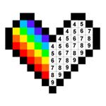 Pixel Art à colorize - No.Draw на пк