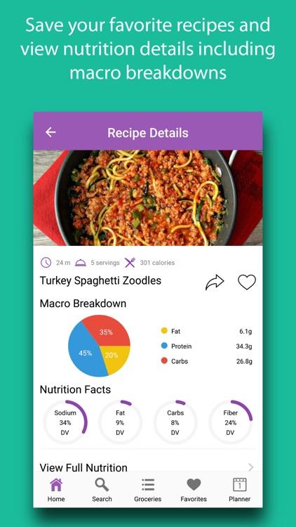 High-Fiber Recipes screenshot-3