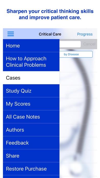 Case Files Critical Care, 2e Screenshot