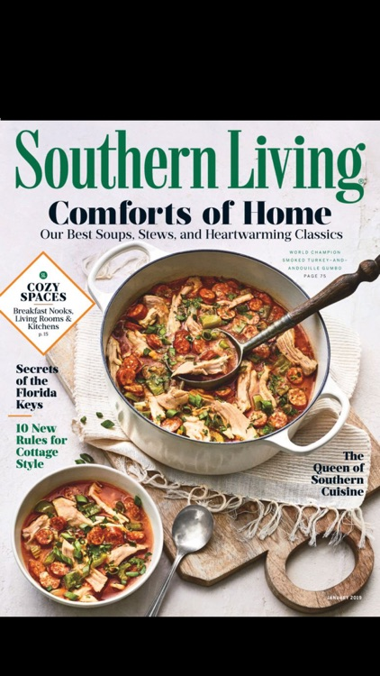 Southern Living Magazine screenshot-0