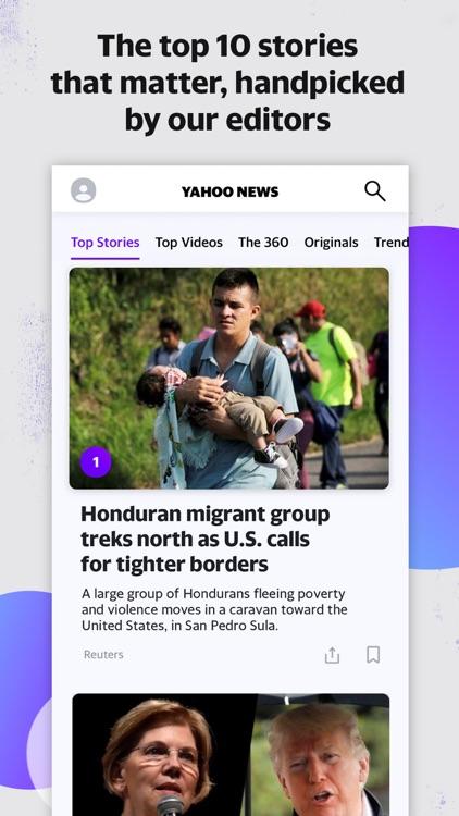 Yahoo News: Live Breaking News screenshot-0