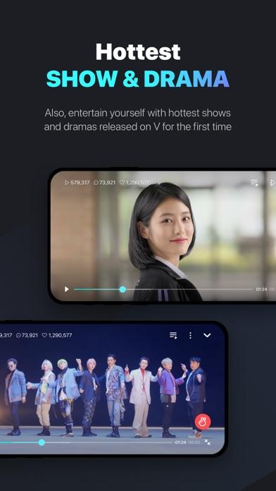 V LIVE - Global Star Live app Screenshot