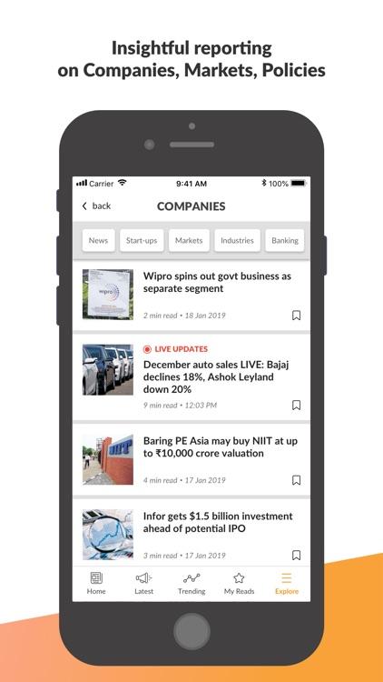 Mint Business News screenshot-6