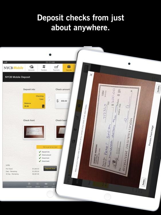 NYCB Mobile® for iPad screenshot-3