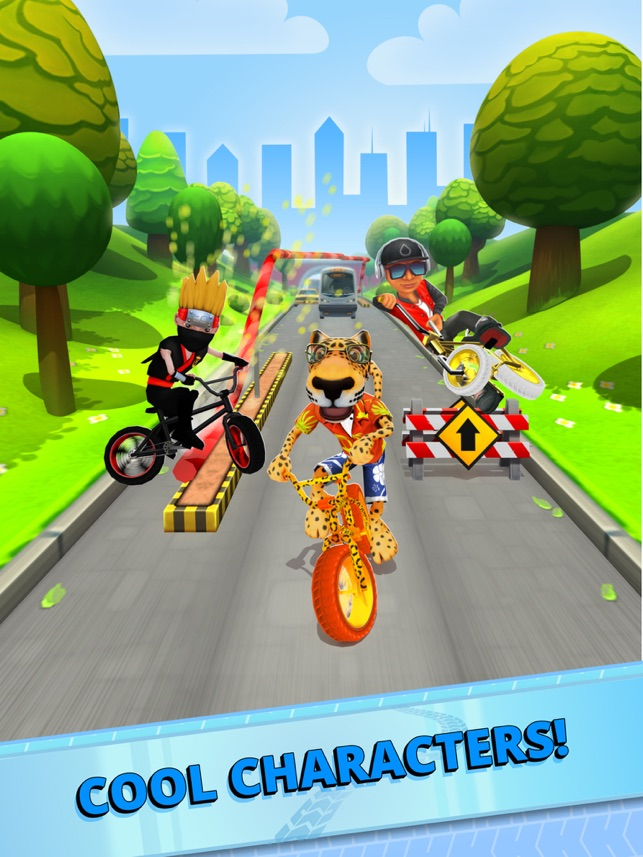 Bike Blast -BMX Race Game, game for IOS