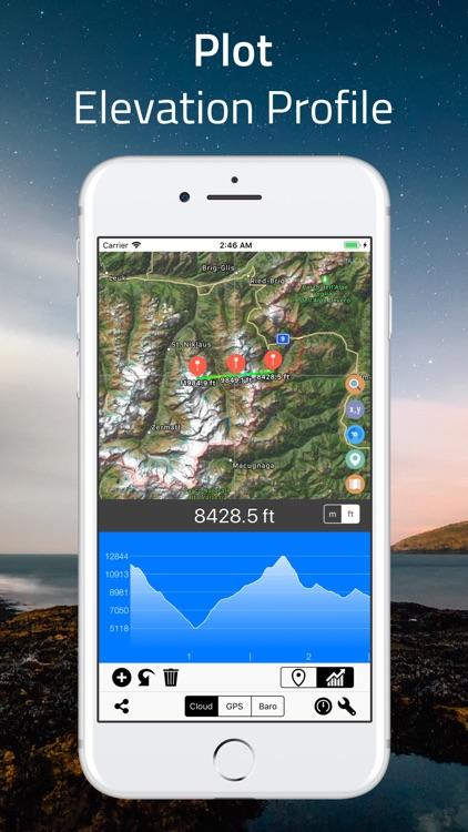 Elevation - Altimeter Map screenshot-5