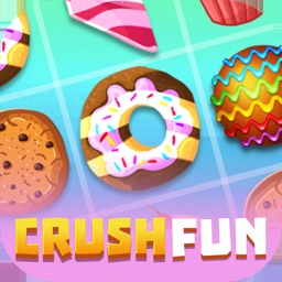 Fun Crush Cake Match 3 Puzzle