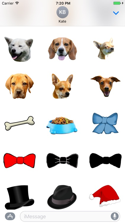 Dogs - Dog Stickers Messages screenshot-3