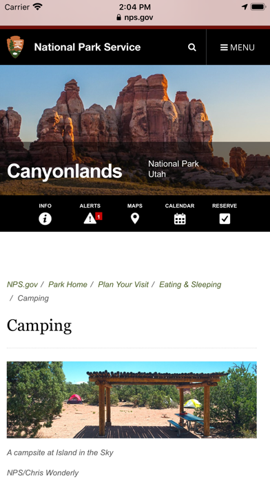Ultimate US Public Campgrounds Screenshot