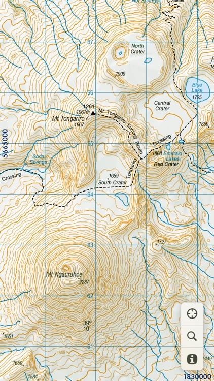 MapApp NZ North Island