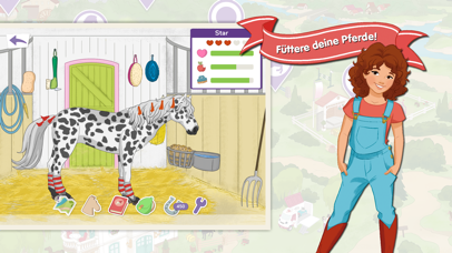 Screenshot for HORSE CLUB Pferde-Abenteuer in Germany App Store