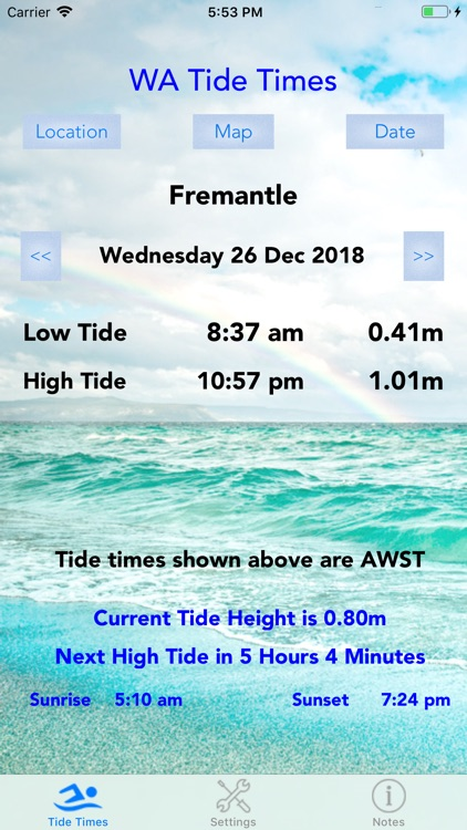 WA Tide Times screenshot-0