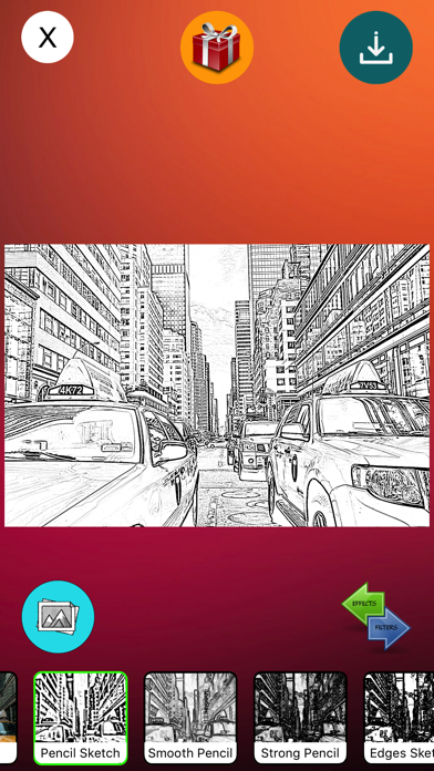Pencil Sketch Art screenshot two