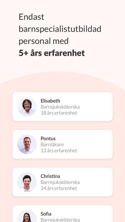 Knodd - Trygg barnhälsa & vård screenshot-3