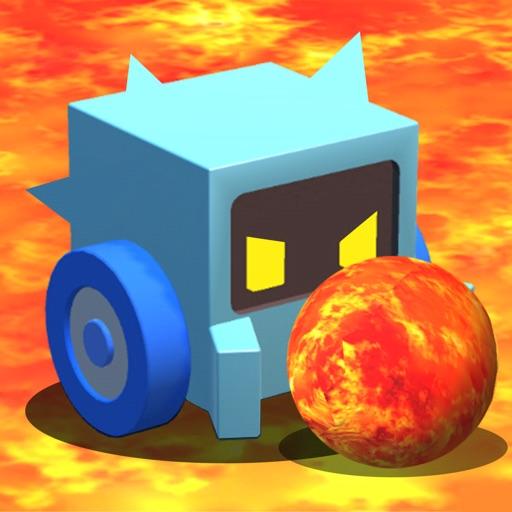 Lava Ball Wars - Flippy Bump