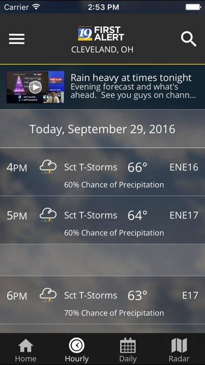 Cleveland19 FirstAlert Weather screenshot-4