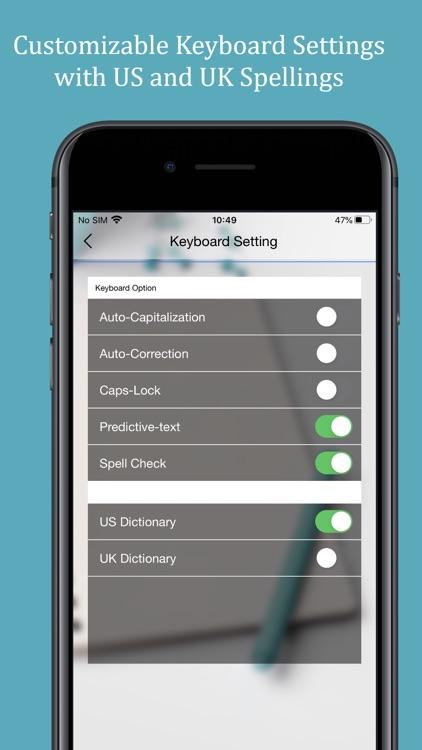 Spellex Medical Keyboard