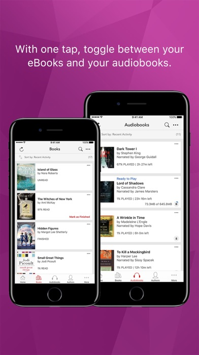 Kobo Books review screenshots