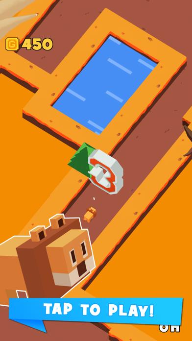 Jaggy Road - Racing Block Star Screenshot on iOS