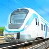 旋转火车-开火车铁路行驶