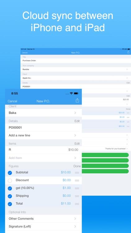 Invoice Maker Simple screenshot-8