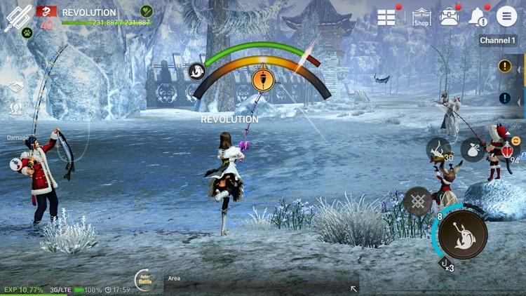 Blade&Soul Revolution screenshot-6