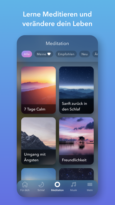 messages.download Calm: Meditation und Schlaf software