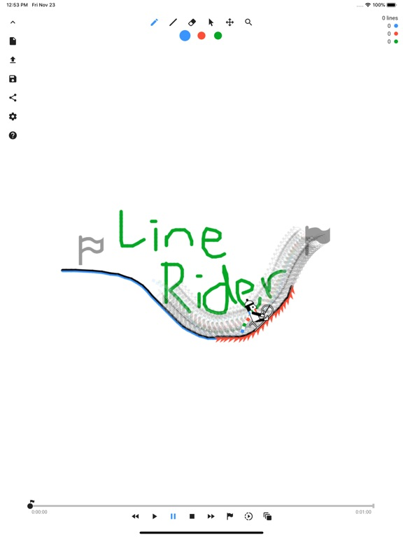 Line Rider - Draw your line Screenshots