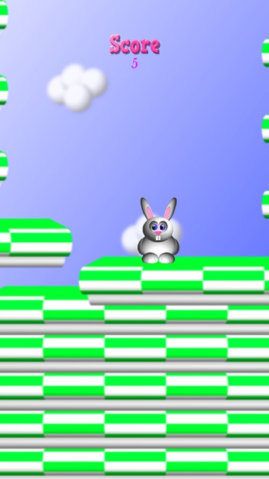 Screenshot for Bunny Hoppy in Spain App Store