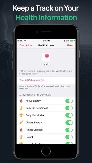 Fit Sync - Fitbit to Healthのおすすめ画像3