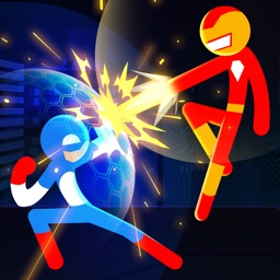 Stickman Combat : Superhero