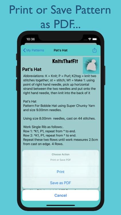 KnitsThatFit Hats screenshot-5