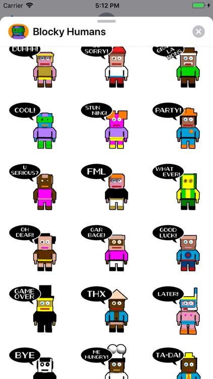 Blocky Humans screenshot-3