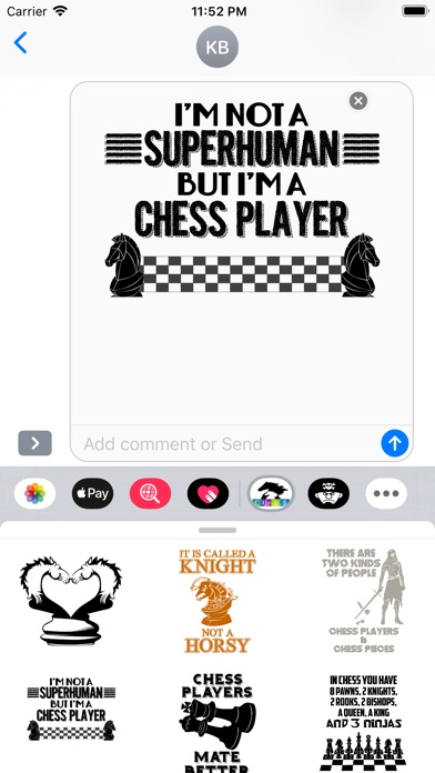 Screenshot for Cool Chess Stickers in Viet Nam App Store