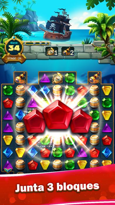 Jewels Fantasy Legend - Match3Captura de pantalla de1